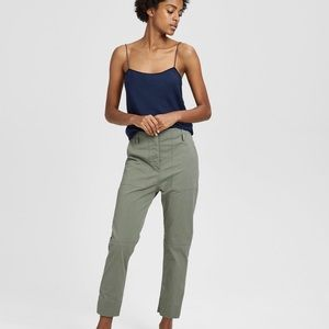 THEORY- Casual Twill Cargot Pant    - NWT
